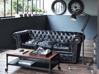 Le canapé Chesterfield, un meuble anglais mythique.