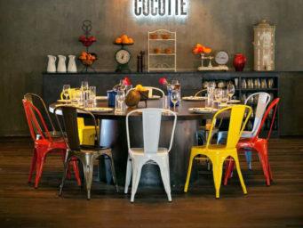 La chaise Tolix pour un style industriel et vintage.