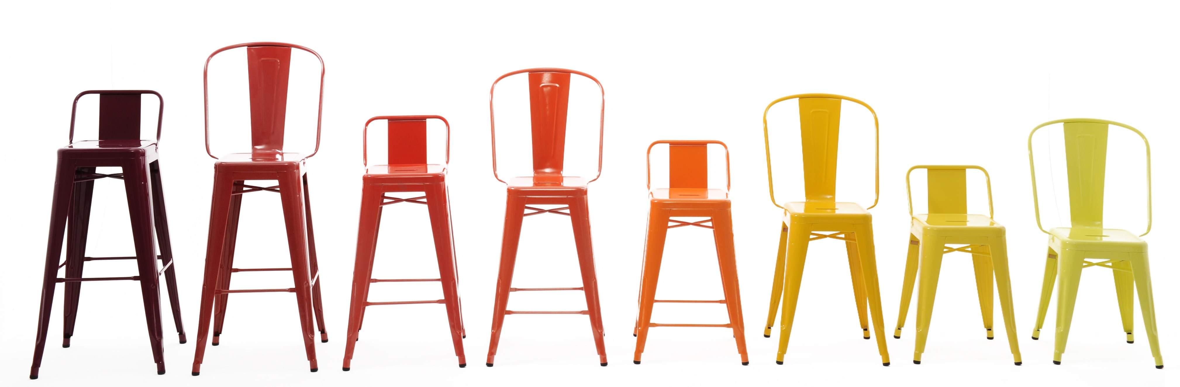 la chaise tolix pour un style industriel et vintage. Black Bedroom Furniture Sets. Home Design Ideas
