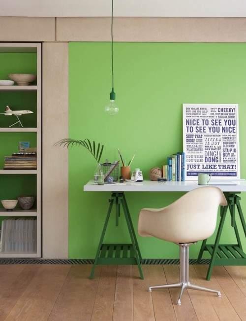 Quelle couleur pour votre bureau - Couleur mur bureau maison ...