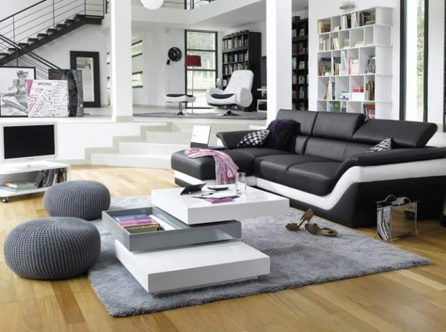 Pour votre salon canap m ridienne ou banquette - Supports magazines simples fois tres design ...