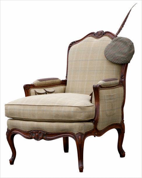 Le fauteuil berg re la touche chic de votre salon - Fauteuil style bergere ...