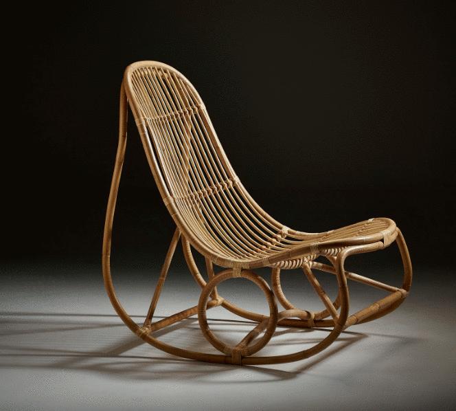 Le rocking chair un fauteuil d co design et d tente - Fauteuil rocking chair design ...