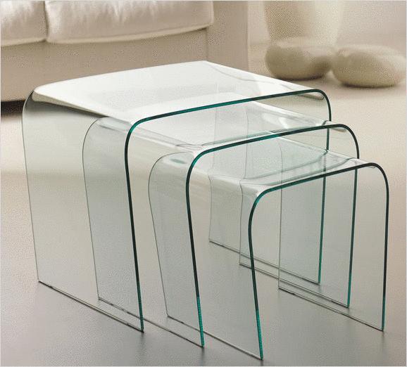 La table gigogne une solution d co ultra modulable - Table gigogne plexiglas ...