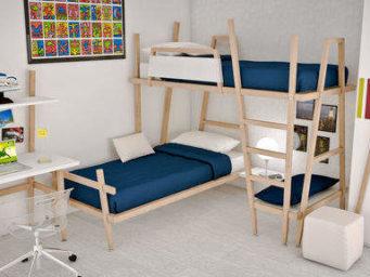 Choisir un lit superposé, la sécurité avant tout.
