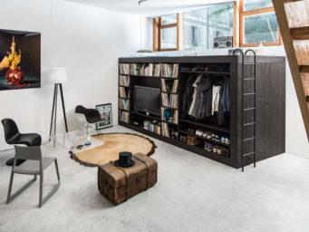 Le Living Cube, une solution tout-en-un conçu par Till Könneker.