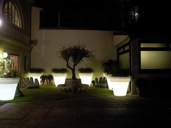 Bien choisir son clairage ext rieur for Luminaire terrasse design
