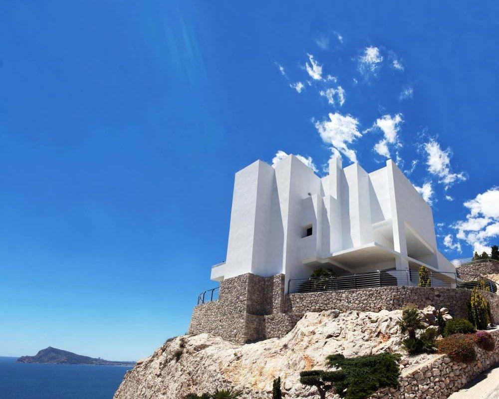 Vue de la résidence la Perle de la méditerranée