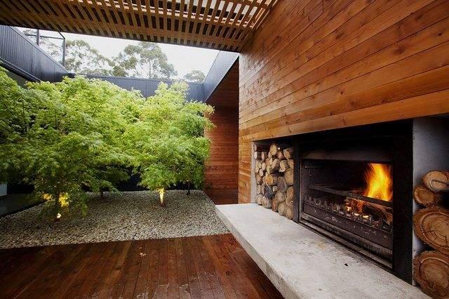 Il existe plusieurs types de cheminée, notamment pour l'extérieur ...
