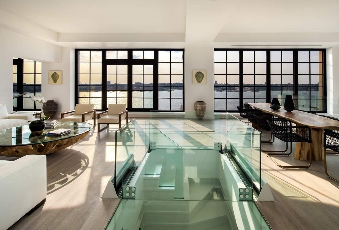 Un appartement incroyable manhattan - Appartement decoration design glamour vuong ...