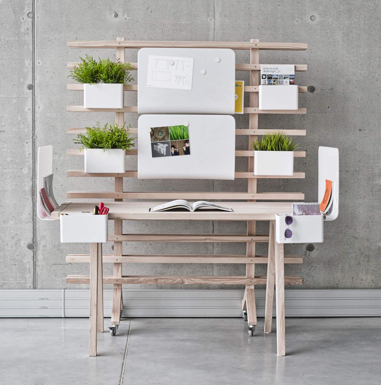worknest un espace de travail modulable. Black Bedroom Furniture Sets. Home Design Ideas