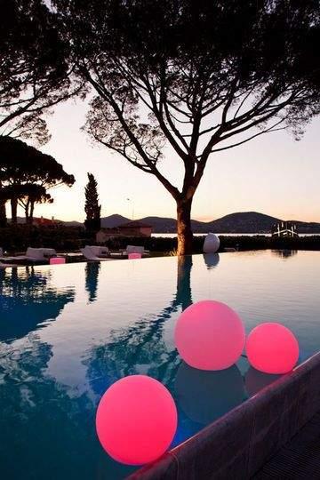 piscine luminaires