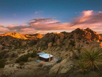 Rock Reach House : une nuit dans le désert