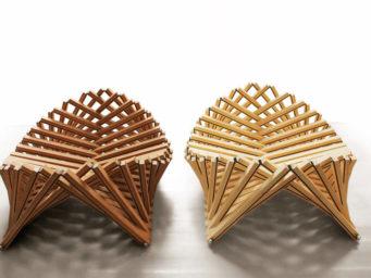 Rising Shell, un accessoire architectural par Robert van Embricqs