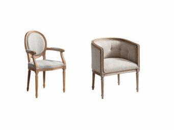 Le fauteuil à travers les styles - Partie II - De Louis XV à Louis XVI