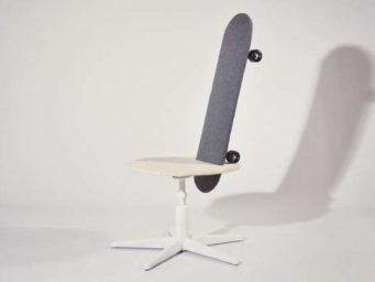 'Mobilité' - Quand le skateboard se transforme en chaise