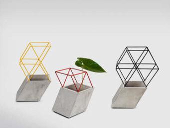 Truss Vases, l'exposition des plantes vu par le studio Thinkk