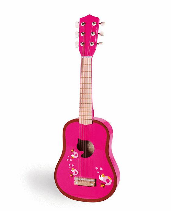 jouets Guitare_Enfant_Scratch_Love_Birds