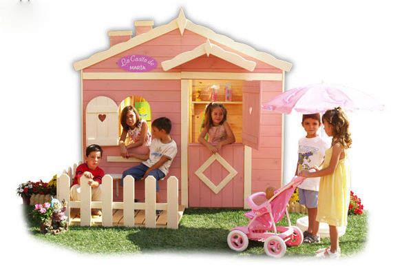 jouets Maison_De_Jardin_Enfant_Cabanes_Green_House_Lady