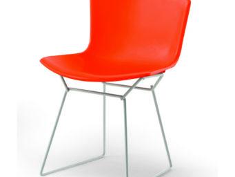 'Bertoia Plastic Chair', une réédition haute en couleur