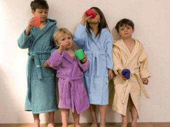 Linge de bains : lequel choisir pour mes enfants ?
