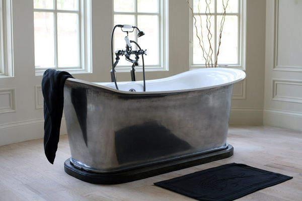 Meubles de salle de bains bain sanitaires decofinder - Baignoire ilot belgique ...