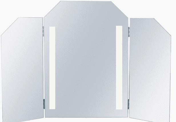 Miroir de salle de bains 5 crit res pour bien le choisir for Miroir trois faces salle de bain