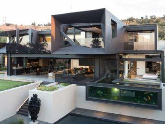 Kloof Road House, futurisme et design