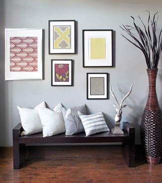 imaginez le papier peint autrement. Black Bedroom Furniture Sets. Home Design Ideas
