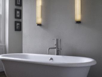 Éclairage de salle de bains, les 3 critères à respecter