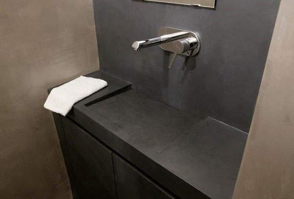 du b ton cir pour les murs mode d 39 emploi. Black Bedroom Furniture Sets. Home Design Ideas
