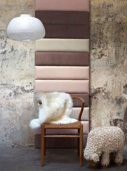 carreaux de cuir un rev tement mural l gant et audacieux. Black Bedroom Furniture Sets. Home Design Ideas
