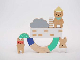 Des enfantillages : la marque tendance de jouets en bois pour enfants