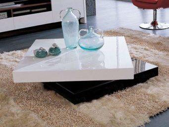 5 Tables basses carrées pour améliorer la décoration de son salon