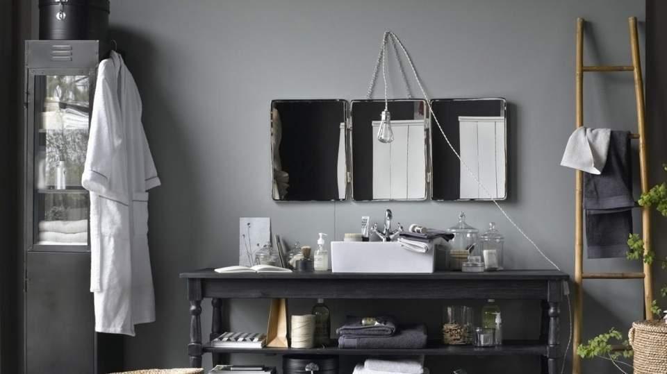 Miroir triptyque : accessoire chic et élégant