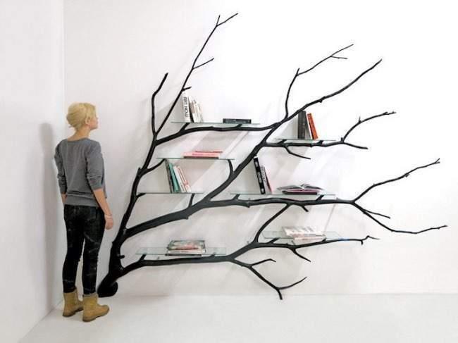 quand la biblioth que se fait arbre bilbao de sebastian errazuriz. Black Bedroom Furniture Sets. Home Design Ideas