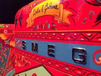Dolce&Gabbana revisite le réfrigérateur Smeg