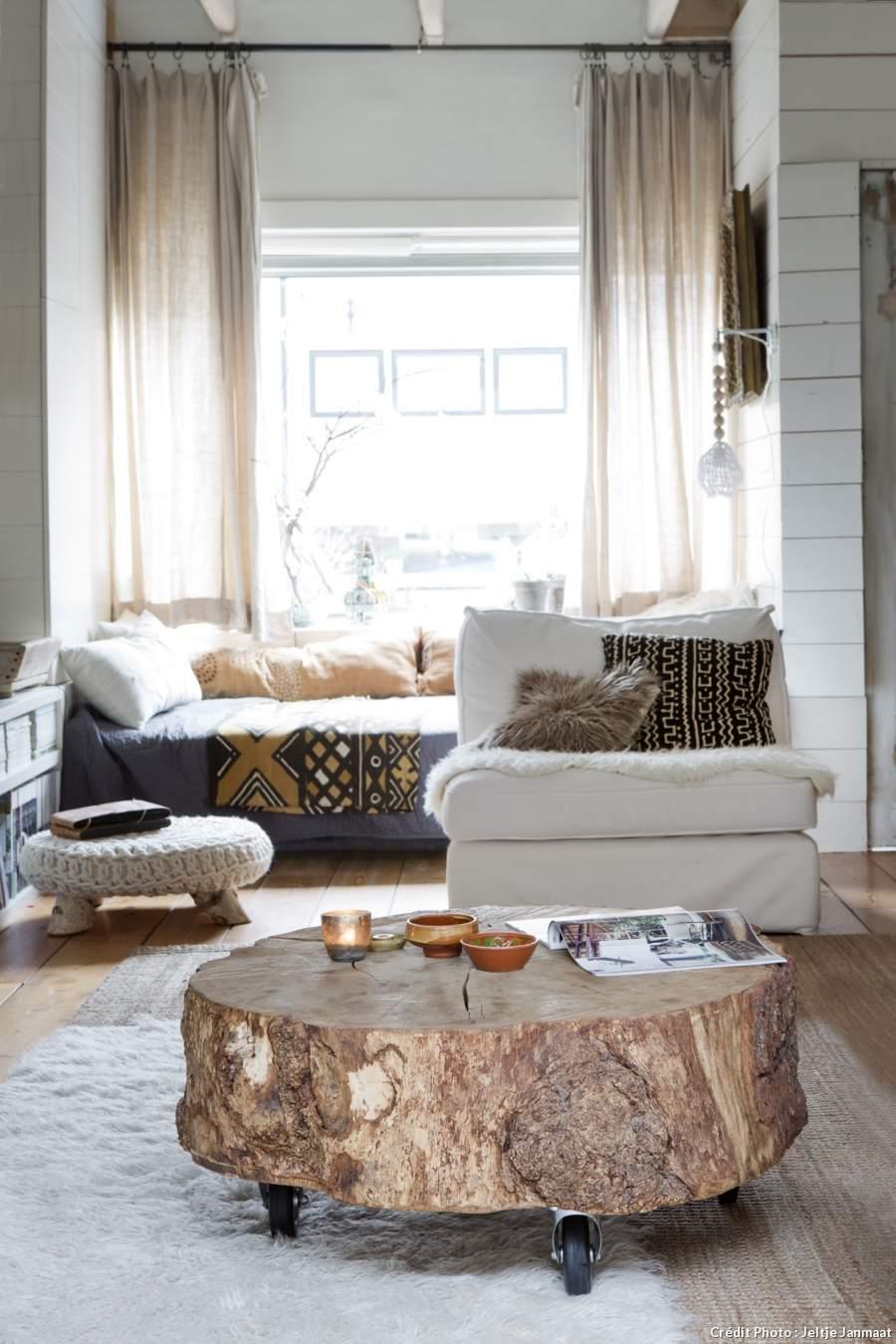 chute de bois branche tronc 5 id es d 39 am nagement tendance. Black Bedroom Furniture Sets. Home Design Ideas