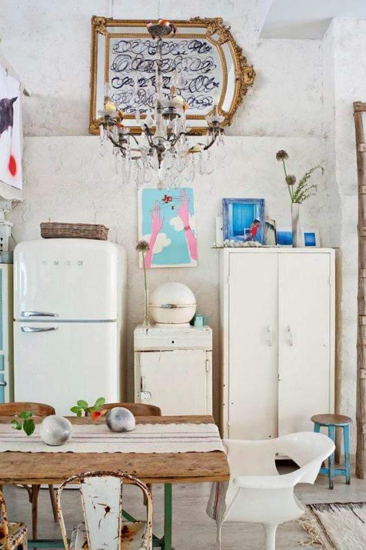 r frig rateur smeg l 39 objet d co de la cuisine. Black Bedroom Furniture Sets. Home Design Ideas