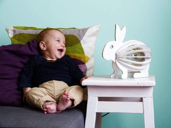 jolie lampe lapin pour enfant
