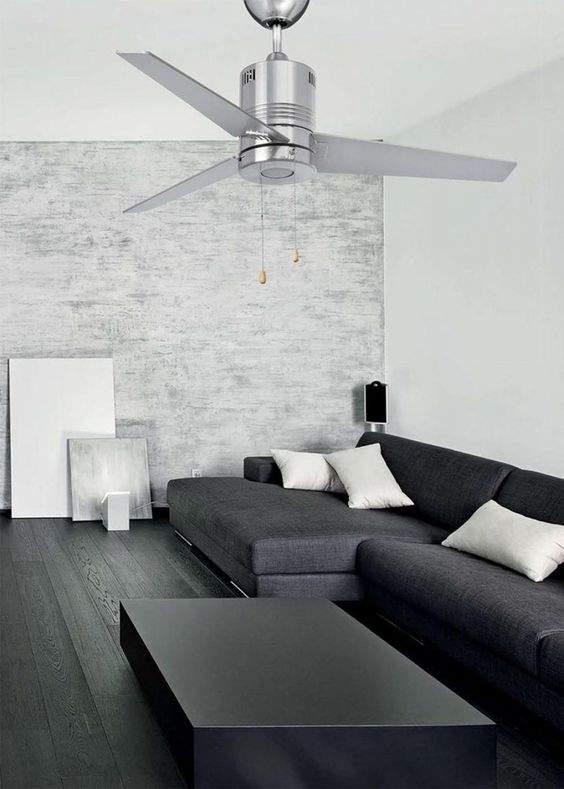 la petite histoire du ventilateur de plafond. Black Bedroom Furniture Sets. Home Design Ideas