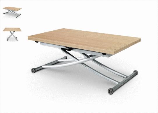 la table basse relevable astucieuse et si pratique. Black Bedroom Furniture Sets. Home Design Ideas