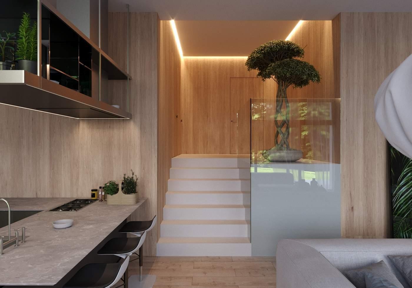Des escaliers singuliers et modernes