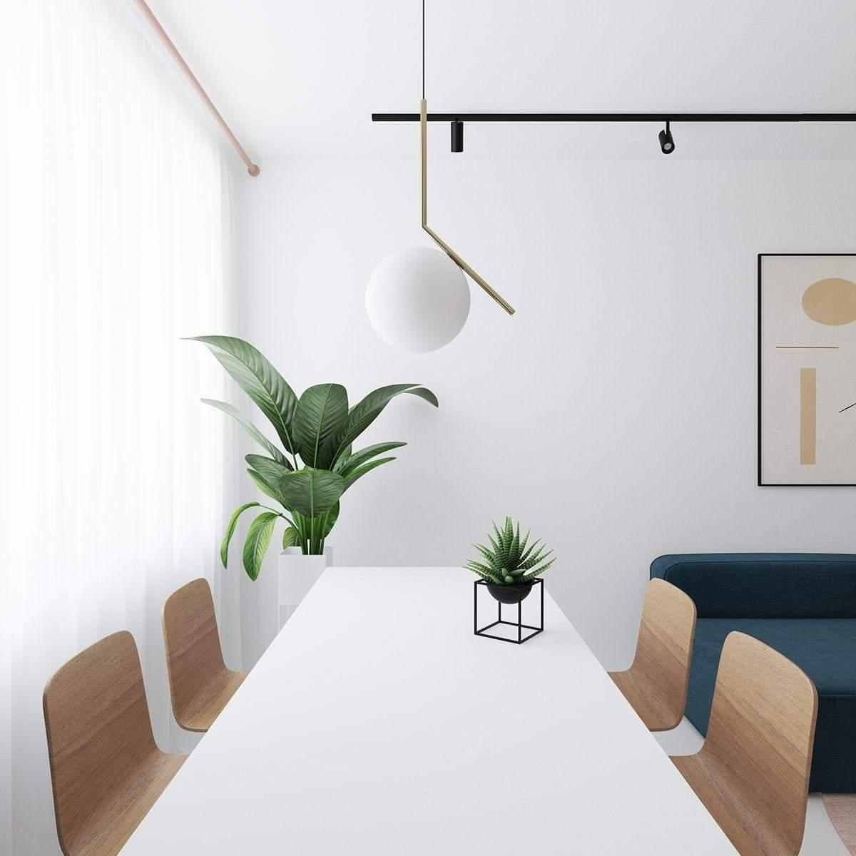 Une salle à manger élégante