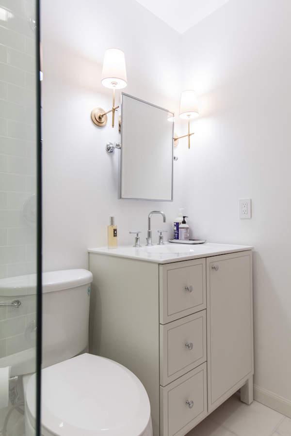 Un lavabo pratique