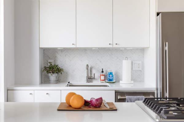 Une cuisine moderne et élégante