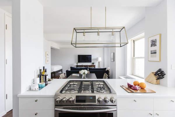 Une cuisine moderne et équipée