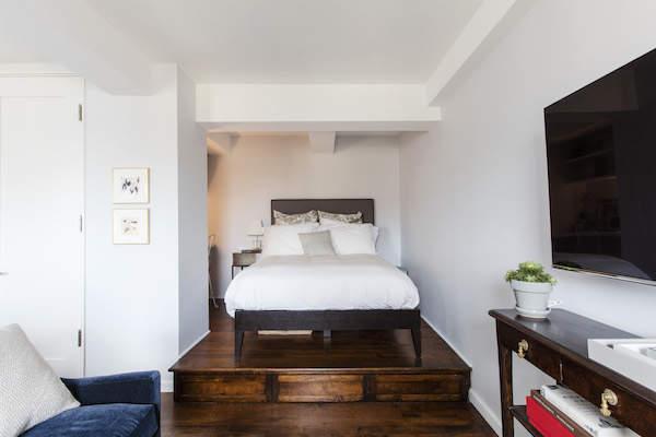 Une chambre réaménagée avec style