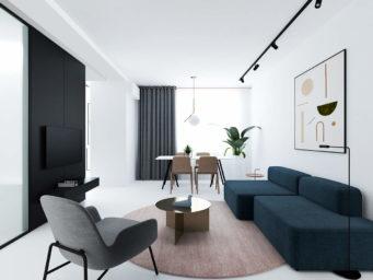Mproject : un appartement design réalisé avec style et élégance