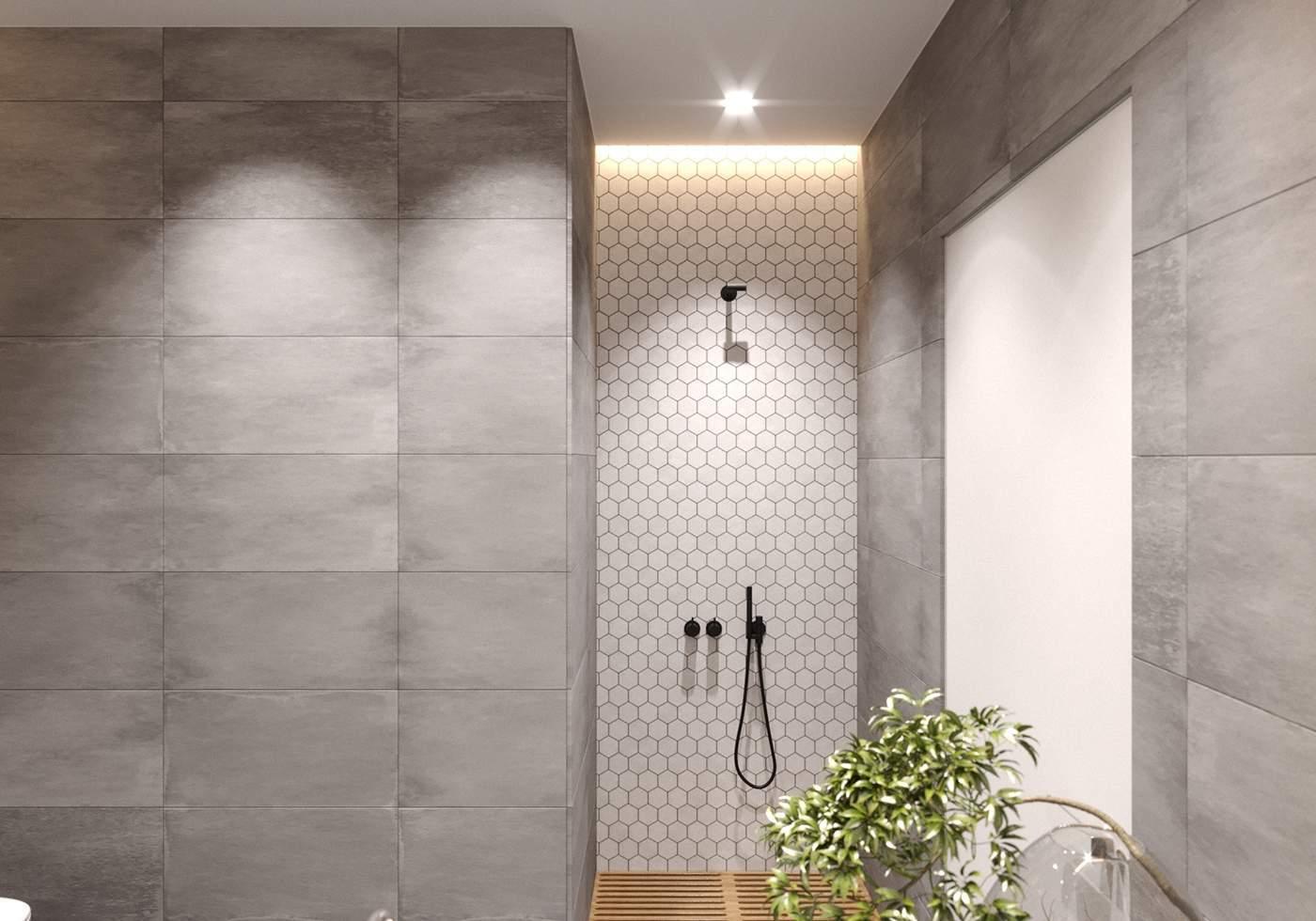 Une douche cosy